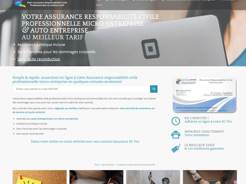 www.assurance-microentreprise.fr
