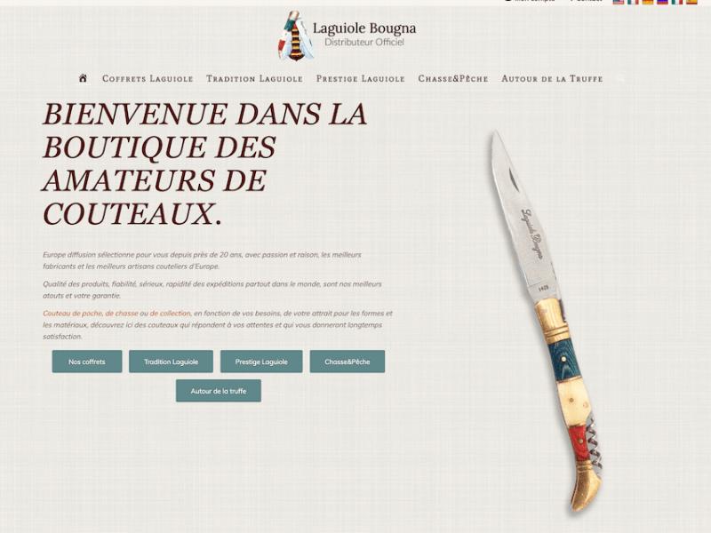 Laguiole Bougna | Distributeur Officiel